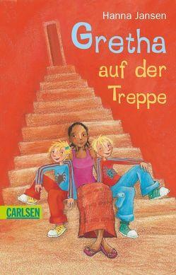 Gretha auf der Treppe von Jansen,  Hanna, Korthues,  Barbara