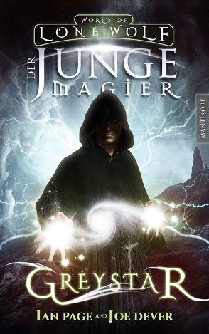 Greystar 01 – Der junge Magier von Dever,  Joe, Page,  Ian, Weh,  Michael
