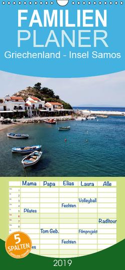 Griechenland – Insel Samos – Familienplaner hoch (Wandkalender 2019 , 21 cm x 45 cm, hoch) von Schneider,  Peter