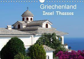 Griechenland – Insel Thassos (Wandkalender 2019 DIN A4 quer) von Schneider,  Peter