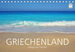 Griechenland –Magie der Farben (Tischkalender 2021 DIN A5 quer) von Keller,  Fabian