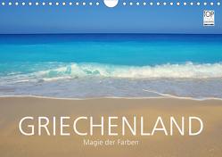 Griechenland –Magie der Farben (Wandkalender 2021 DIN A4 quer) von Keller,  Fabian