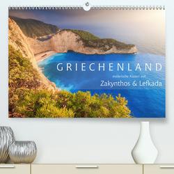 Griechenland – Malerische Küsten auf Zakynthos und Lefkada (Premium, hochwertiger DIN A2 Wandkalender 2020, Kunstdruck in Hochglanz) von Rosyk,  Patrick