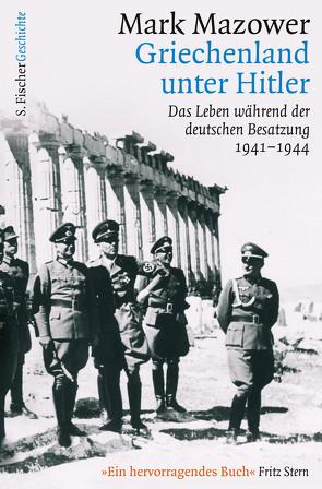Griechenland unter Hitler von Mazower,  Mark