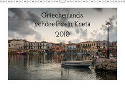 Griechenlands schöne Inseln, Kreta (Wandkalender 2019 DIN A3 quer) von Streiparth,  Katrin