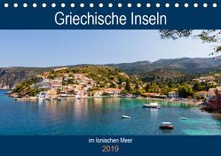 Griechische Inseln im Ionischen Meer (Tischkalender 2019 DIN A5 quer) von Webeler,  Janita