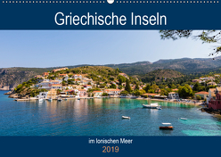 Griechische Inseln im Ionischen Meer (Wandkalender 2019 DIN A2 quer) von Webeler,  Janita