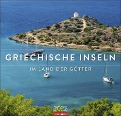 Griechische Inseln Kalender 2022 von Weingarten