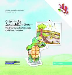 Griechische Landschildkröten von Halla,  Ursula, Lebens,  Matthias