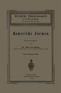 Griechische Schulgrammatik von von Bamberg,  Albert