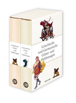 Griechische und Germanische Götter- und Heldensagen von Tetzner,  Reiner, Wittmeyer,  Uwe