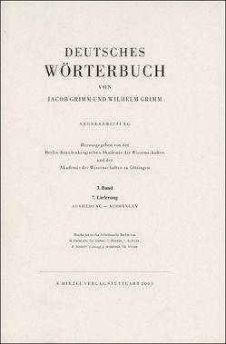 Grimm, Dt. Wörterbuch Neubearbeitung von Berlin-Brandenburgische Akademie der Wissenschaften und der Akademie der Wissenschaften zu Göttingen, Grimm,  Jacob, Grimm,  Wilhelm