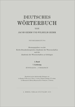 Grimm, Dt. Wörterbuch Neubearbeitung von Akademie der Wissenschaften, Berlin-Brandenburgische Akademie, Grimm,  Jacob, Grimm,  Wilhelm