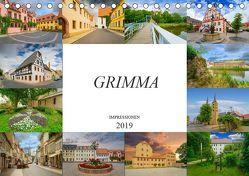 Grimma Impressionen (Tischkalender 2019 DIN A5 quer) von Meutzner,  Dirk