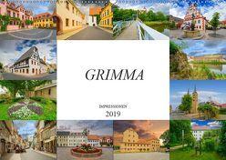 Grimma Impressionen (Wandkalender 2019 DIN A2 quer) von Meutzner,  Dirk