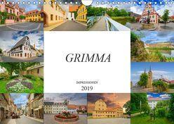 Grimma Impressionen (Wandkalender 2019 DIN A4 quer) von Meutzner,  Dirk