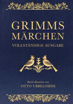 Grimms Märchen (Cabra-Lederausgabe) von Grimm,  Jacob, Grimm,  Wilhelm, Ubbelohde,  Otto