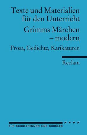 Grimms Märchen – modern von Barth,  Johannes