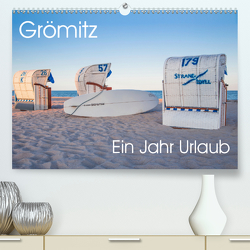 Grömitz – Ein Jahr Urlaub (Premium, hochwertiger DIN A2 Wandkalender 2021, Kunstdruck in Hochglanz) von Meine,  Astrid