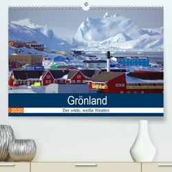 Grönland – Der wilde, weiße Westen (Premium, hochwertiger DIN A2 Wandkalender 2020, Kunstdruck in Hochglanz) von Pantke,  Reinhard