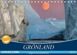 GRÖNLAND Eisfjord und Diskobucht (Tischkalender 2019 DIN A5 quer) von Junio,  Michele