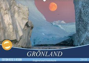 GRÖNLAND Eisfjord und Diskobucht (Wandkalender 2018 DIN A2 quer) von Junio,  Michele
