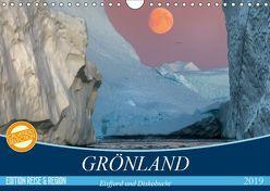 GRÖNLAND Eisfjord und Diskobucht (Wandkalender 2019 DIN A4 quer) von Junio,  Michele