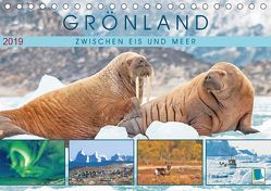 Grönland: Zwischen Eis und Meer (Tischkalender 2019 DIN A5 quer) von CALVENDO