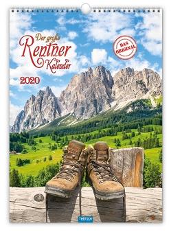 """Großbildkalender """"Der große Rentnerkalender"""" 2020"""