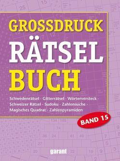 Grossdruck Rätselbuch Band 15