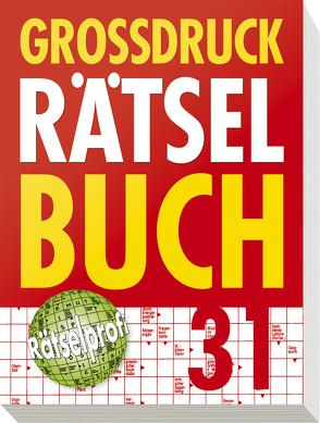 Großdruck Rätselbuch Band 31