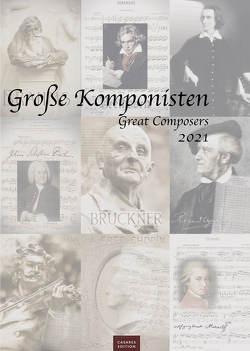 Große Komponisten 2021 L 42x59cm von Schawe,  Heinz-werner