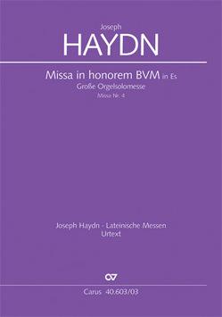 Große Orgelsolomesse in Es (Klavierauszug) von Haydn,  Joseph