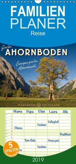 Großer Ahornboden – Europas großer Ahornwald – Familienplaner hoch (Wandkalender 2019 , 21 cm x 45 cm, hoch) von H. Warkentin,  Karl
