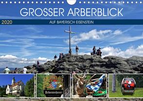 Grosser Arberblick auf Bayerisch Eisenstein (Wandkalender 2020 DIN A4 quer) von Felix,  Holger