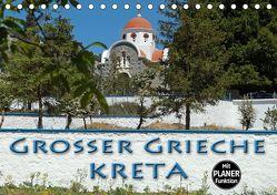 Großer Grieche Kreta (Tischkalender 2020 DIN A5 quer) von Flori0