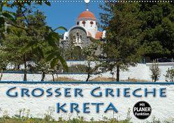 Großer Grieche Kreta (Wandkalender 2020 DIN A2 quer) von Flori0