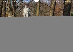 Großer Tiergarten Berlin – Von Dichtern und Komponisten (Wandkalender 2019 DIN A4 quer) von Fotografie,  ReDi