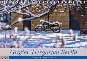 Großer Tiergarten Berlin – Winterliche Impressionen (Tischkalender 2020 DIN A5 quer) von Fotografie,  ReDi