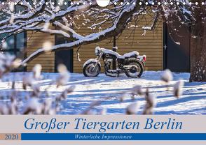 Großer Tiergarten Berlin – Winterliche Impressionen (Wandkalender 2020 DIN A4 quer) von Fotografie,  ReDi