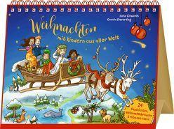 Großer Tischkalender – Weihnachten mit Kindern aus aller Welt von Einwohlt,  Ilona, Sieverding,  Carola