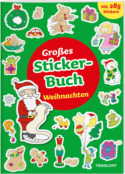 Großes Sticker-Buch. Weihnachten von Schmidt,  Sandra, Tessloff Verlag