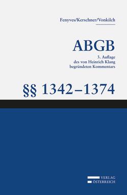 Großkommentar zum ABGB – Klang Kommentar von Fenyves,  Attila, Kerschner,  Ferdinand, Vonkilch,  Andreas