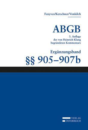 Großkommentar zum ABGB – Klang Kommentar von Fenyves, Attila, Kerschner, Ferd, Vonkilch, Andreas