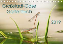 Großstadt-Oase Gartenteich (Tischkalender 2019 DIN A5 quer) von Wibke Hildebrandt,  Anne