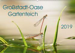 Großstadt-Oase Gartenteich (Wandkalender 2019 DIN A2 quer) von Wibke Hildebrandt,  Anne