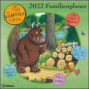 Grüffelo 2022 Familienplaner – Familien-Timer – Termin-Planer – Kinder-Kalender – Familien-Kalender – 30×30 von Donaldson,  Julia, Scheffler,  Axel