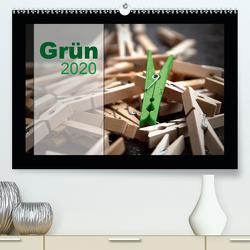 Grün (Premium, hochwertiger DIN A2 Wandkalender 2020, Kunstdruck in Hochglanz) von calmbacher,  Christiane