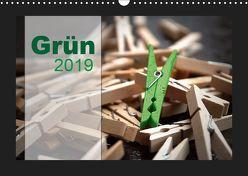 Grün (Wandkalender 2019 DIN A3 quer) von calmbacher,  Christiane