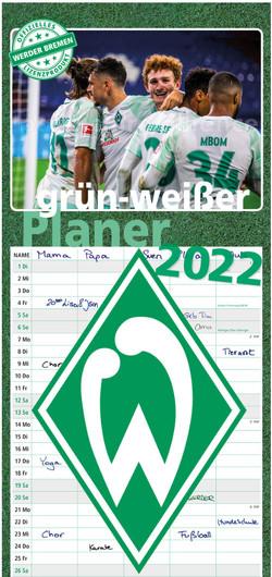 grün-weißer Planer 2022